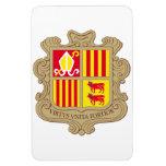 Escudo de armas de Andorra Iman De Vinilo