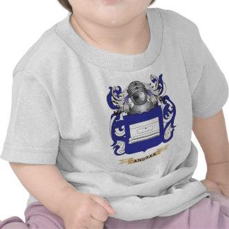 Escudo de armas de Andras escudo de la familia Camiseta