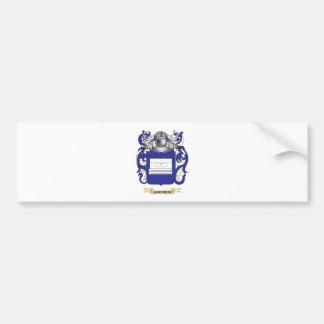 Escudo de armas de Andren (escudo de la familia) Pegatina Para Auto