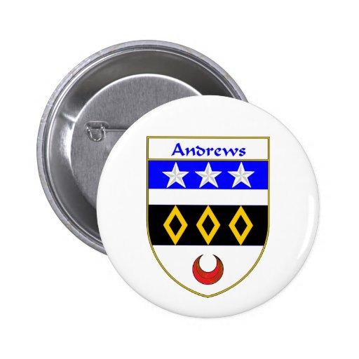 Escudo de armas de Andrews/escudo de la familia Pin