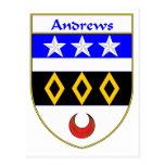 Escudo de armas de Andrews/escudo de la familia Postal