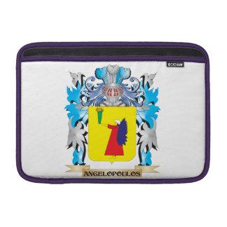 Escudo de armas de Angelopoulos Fundas Macbook Air