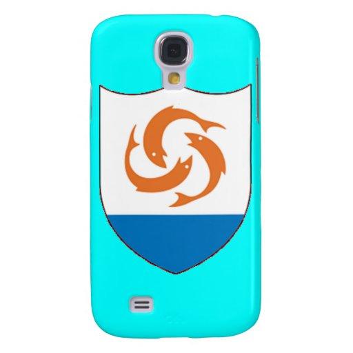 Escudo de armas de Anguila Funda Para Galaxy S4