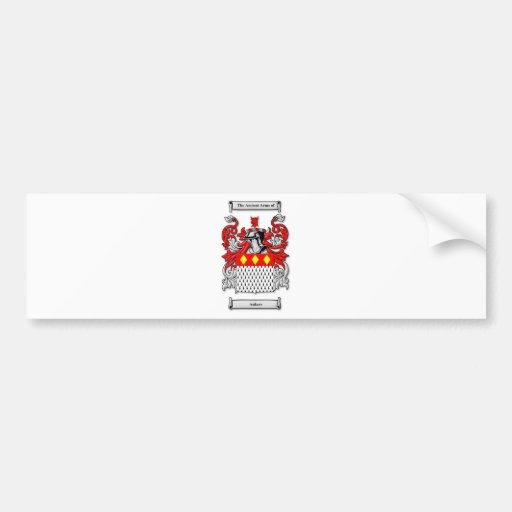 Escudo de armas de Ankers Etiqueta De Parachoque