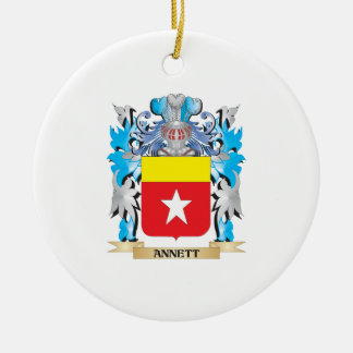 Escudo de armas de Annett Ornamento De Reyes Magos