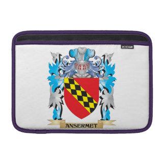 Escudo de armas de Ansermet Fundas Macbook Air