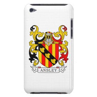Escudo de armas de Ansley iPod Case-Mate Fundas