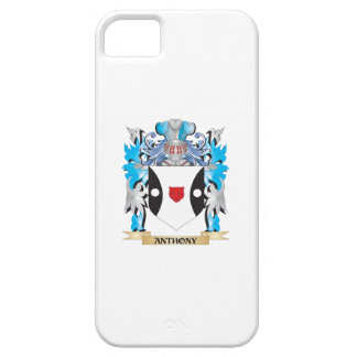 Escudo de armas de Anthony iPhone 5 Carcasas