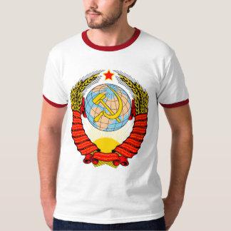 Escudo de armas de antigua Unión Soviética Remeras