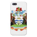Escudo de armas de Antigua y de Barbuda iPhone 5 Protectores