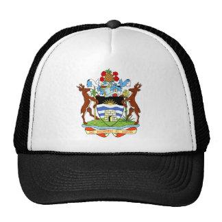 Escudo de armas de Antigua y de Barbuda Gorros