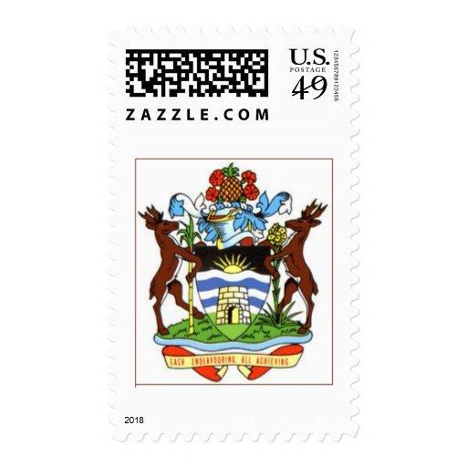Escudo de armas de Antigua y de Barbuda Sello