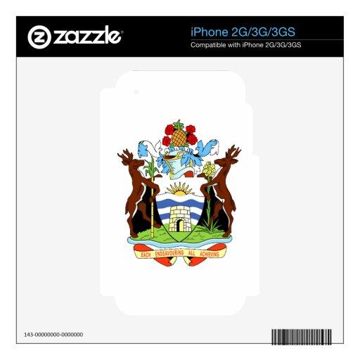 Escudo de armas de Antigua y de Barbuda iPhone 2G Skins