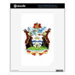 Escudo de armas de Antigua y de Barbuda NOOK Color Calcomanías