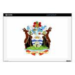Escudo de armas de Antigua y de Barbuda Calcomanía Para 43,2cm Portátil