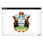 Escudo de armas de Antigua y de Barbuda Calcomanías Para Portátiles