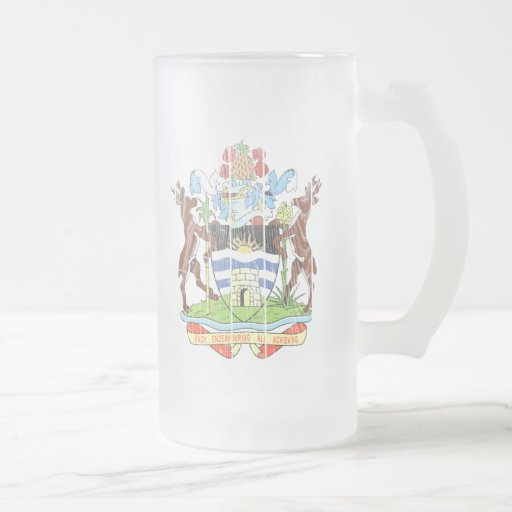 Escudo de armas de Antigua y de Barbuda Taza De Café