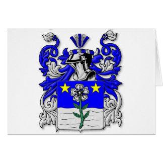 Escudo de armas de Antonelli Tarjeta De Felicitación