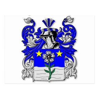Escudo de armas de Antonelli Tarjetas Postales
