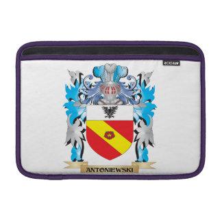 Escudo de armas de Antoniewski Funda Para Macbook Air