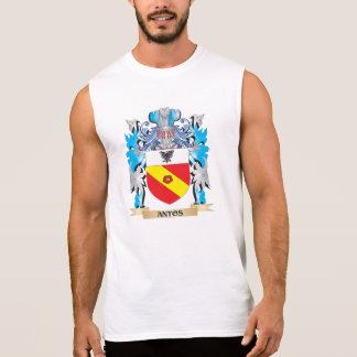 Escudo de armas de Antos Camisetas Sin Mangas
