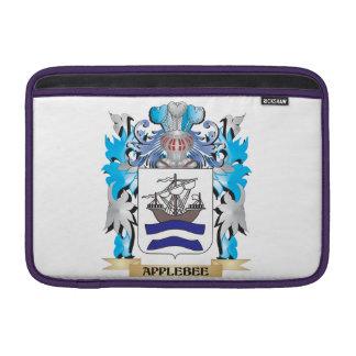 Escudo de armas de Applebee Fundas MacBook