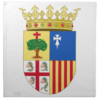 Escudo de armas de Aragón (España) Servilletas