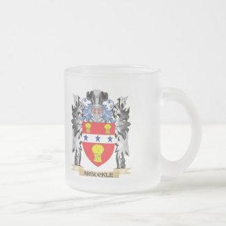 Escudo de armas de Arbuckle - escudo de la familia Taza De Cristal