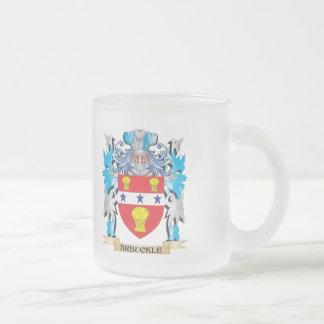 Escudo de armas de Arbuckle Taza De Cristal