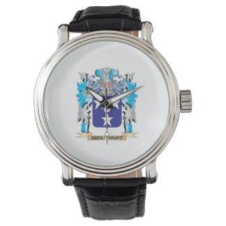 Escudo de armas de Arbuthnot Reloj