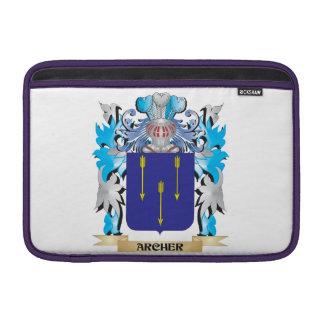 Escudo de armas de Archer Funda MacBook