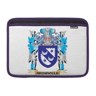 Escudo de armas de Archibould Funda Para Macbook Air