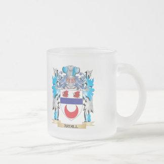 Escudo de armas de Ardill Taza Cristal Mate