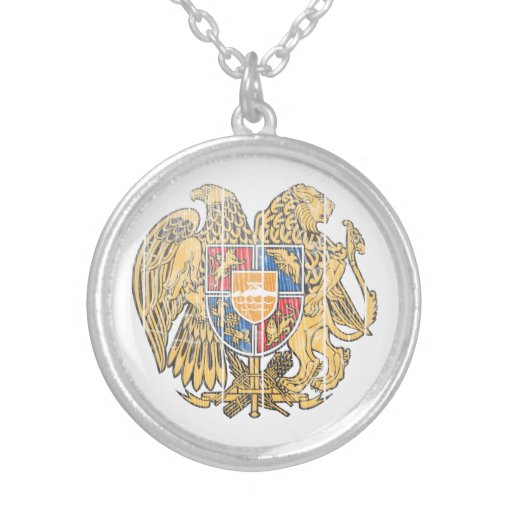 Escudo de armas de Armenia Colgante Redondo