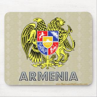 Escudo de armas de Armenia Alfombrillas De Raton