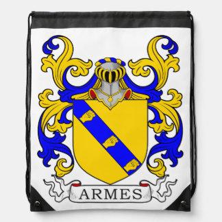 Escudo de armas de Armes Mochilas