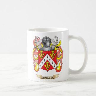 Escudo de armas de Arnaldo (escudo de la familia) Tazas