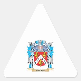 Escudo de armas de Arnaldo Pegatina Trianguloada