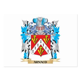 Escudo de armas de Arnaldo Tarjetas De Visita