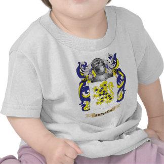 Escudo de armas de Arriaga (escudo de la familia) Camisetas