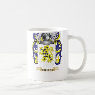 Escudo de armas de Arriaga (escudo de la familia) Tazas De Café