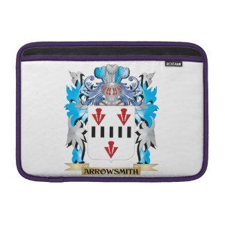 Escudo de armas de Arrowsmith Fundas Para Macbook Air