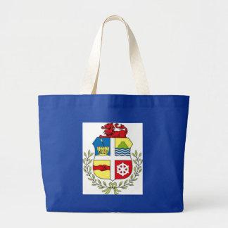 Escudo de armas de Aruba Bolsas Lienzo