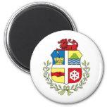 Escudo de armas de Aruba Imán De Frigorífico