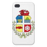 Escudo de armas de Aruba iPhone 4 Cobertura