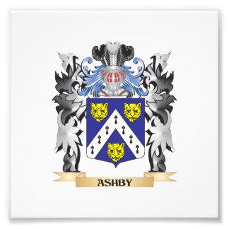 Escudo de armas de Ashby - escudo de la familia Cojinete