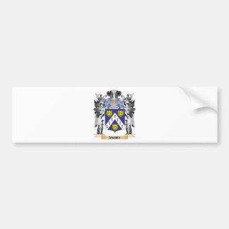 Escudo de armas de Ashby - escudo de la familia Pegatina Para Auto