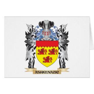 Escudo de armas de Ashkenazic - escudo de la Tarjeta Pequeña