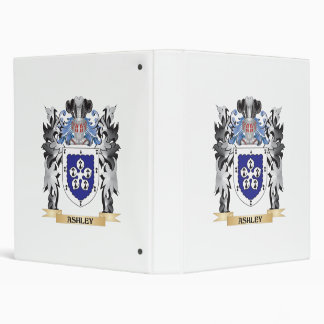 "Escudo de armas de Ashley - escudo de la familia Carpeta 1"""