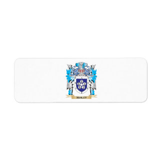 Escudo de armas de Ashley Etiquetas De Remite
